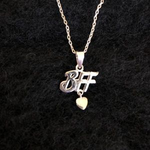 BFF - Best Friends Forever Sterling Necklace